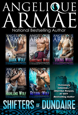 angelique armae's shifters of dundaire bundle books 1-5