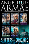 angelique armae's shifters of dundaire books 1-5
