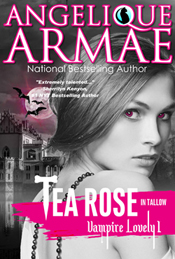 angelique armae's tea rose in tallow